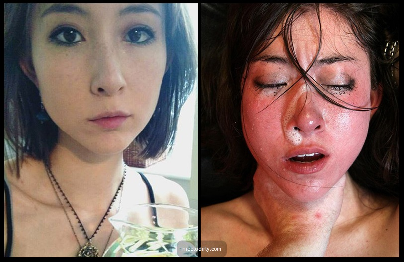 Beautiful Asians dumped in cum