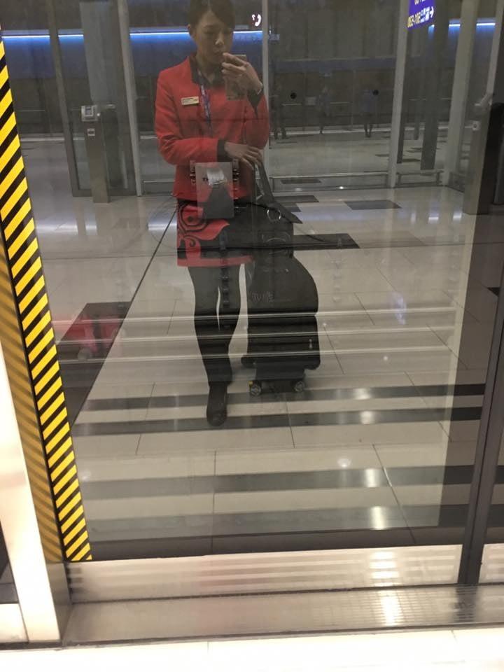 chinese stewardess