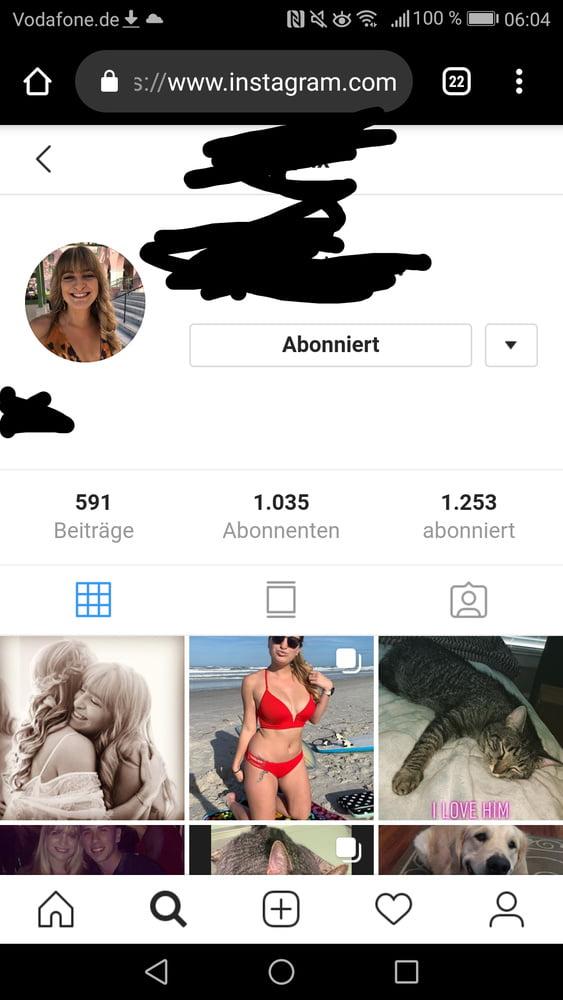 Exposed sexy blonde slut facebook Instagram