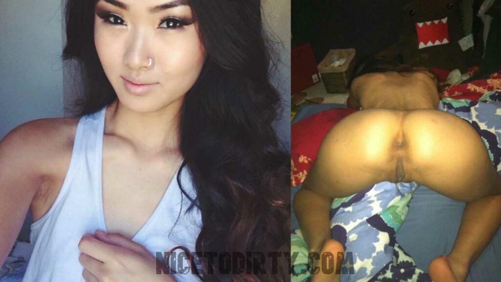 Instagram Girl Exposed Butthole