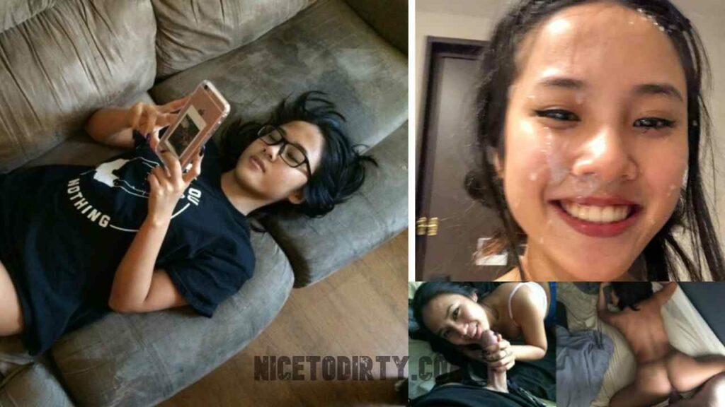 Cute Asian Girlfriend Fucked